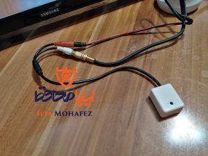 عکس از اتصال وارد بر میکروفون